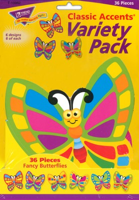 Fancy Butterflies Variety Pack Classic Accent  -