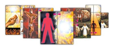 Big EvangeCards, pack of 10     -
