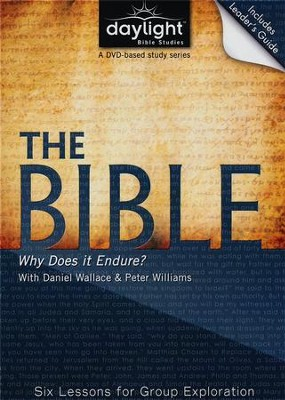 The Bible: Why Does It Endure? , DVD with Leader's Guide   -