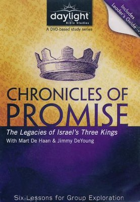 Chronicles Of Promise: The Legacies Of Israel's Three Kings, DVD with Leader's Guide  -
