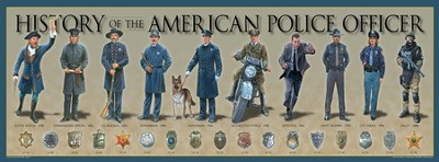 History of The American Police Officer  -