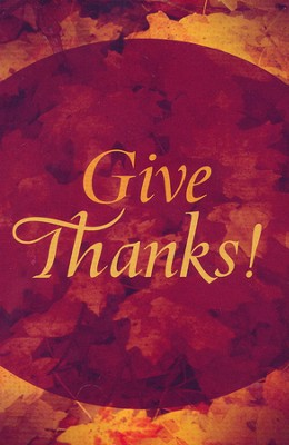 Give Thanks! Pack of 25  -