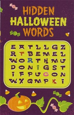 Hidden Halloween Words, Pack of 25  -