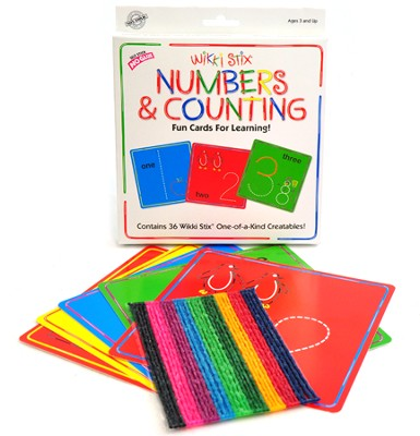 Wikki Stix Numbers Cards  -