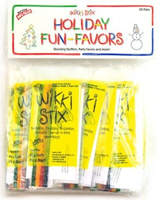 Wikki Stix Holiday Favors  -