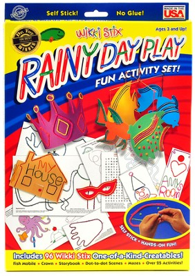 Wikki Stix Rainy Day Play  -