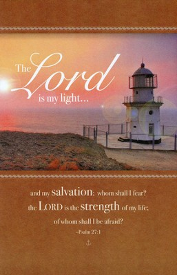 The Lord is My Light (Psalms 27:1) Bulletins, 100  -