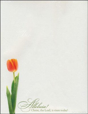 Christ the Lord Is Risen Today, Letterhead, 100  -