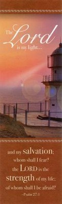 Lighthouse (Psalm 27:1) Bookmarks, 25  -