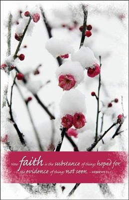 Faith (Hebrews 11:1) Bulletins, 100  -