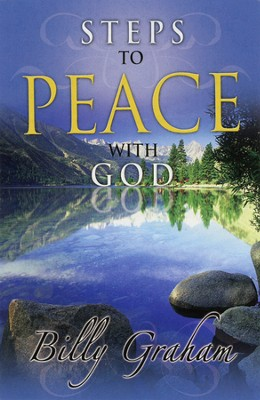 Steps to Peace with God (NIV) 25 Tracts  -     By: Billy Graham