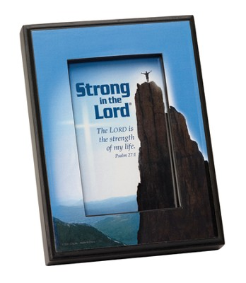 Strong in the Lord Framed Print  -