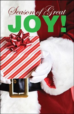 Season of Great Joy! (NIV), Pack of 25 Tracts   -
