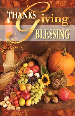 Thanksgiving Blessing, 25 Tracts  -