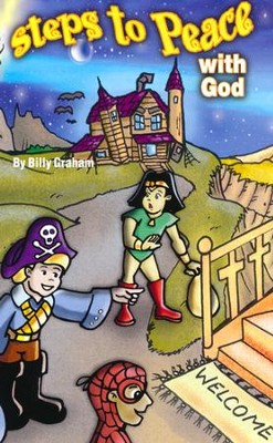 Halloween Steps to Peace with God (ERV), Pack of 25 Tracts   -     By: Billy Graham