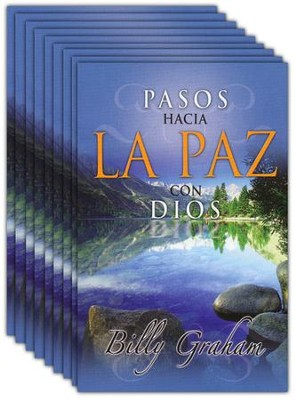 Pasos Hacia la Paz con Dios, 25 Tratados  (Steps to Peace with God, 25 Tracts)  -     By: Billy Graham