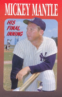 Mickey Mantle: His Final Inning (KJV), Pack of 25 Tracts   -