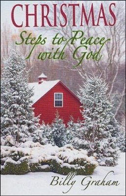 Christmas Steps to Peace with God, 25 Tracts  -