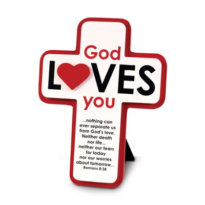 God Loves You and So Do I Cross  -