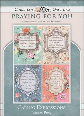 Caring Expressions, Box of 12 Assorted Thinking of You Cards  -