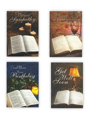 Light from His Word, Box of 12 Assorted All Occasion Cards  -