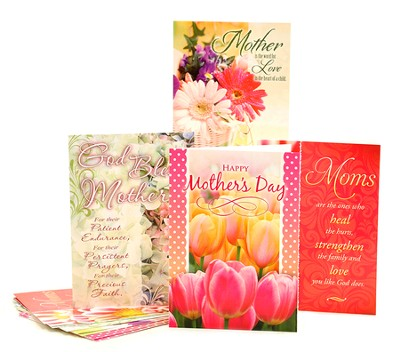 Mother's Day Blessings, Box of 12 Assorted Cards Mothers Day Cards  -