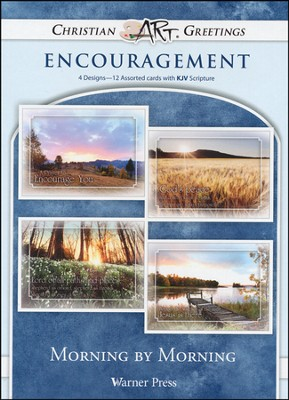 Morning By Morning, Box of 12 Assorted Encouragement Cards  -