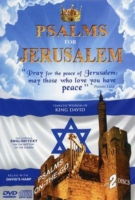 Psalms for Jerusalem DVD/CD   -     By: David & The High Spirit
