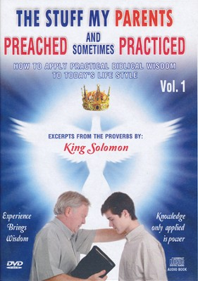 Proverbs: The Stuff My Parents Preached-Vol. 1, DVD and CD  -     By: David & The High Spirit