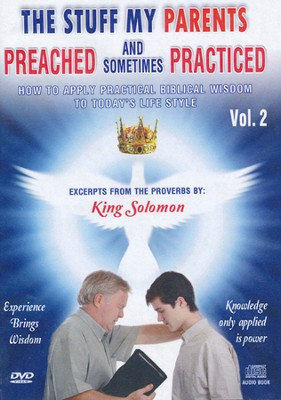 Proverbs: The Stuff My Parents Preached-Vol. 2, DVD and CD  -     By: David & The High Spirit