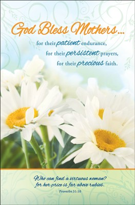 God Bless Mothers (Proverbs 31:10) Bulletins, 100  -