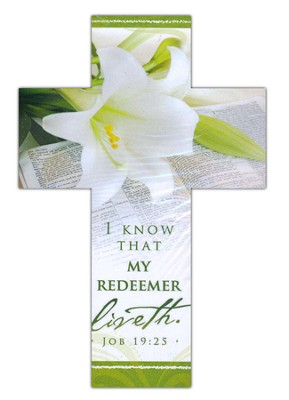 My Redeemer Lives, Cross Bookmarks (1 Peter 1:3) Pack of 25  -