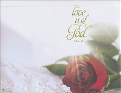 Love Is of God (1 John 4:7) Bulletins, 100  -