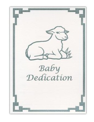 Baby Dedication Folded Certificates (Matthew 19:14, NKJV) 6  -