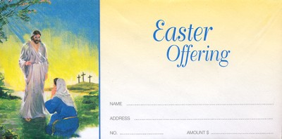 Risen Christ with Mary, Offering Envelopes, 100  -