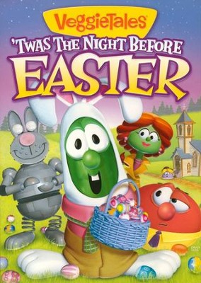 'Twas the Night Before Easter, VeggieTales DVD   -