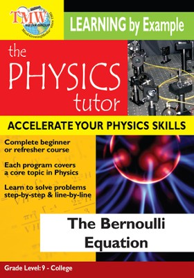 Physics Tutor: Bernoulli Equation DVD  -