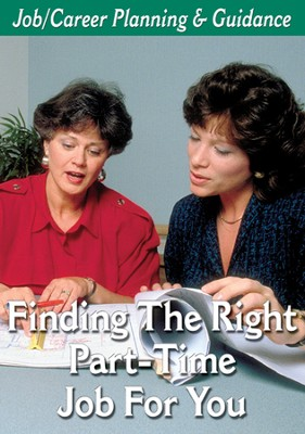 Career Planning Series: Find The Right Part-Time Job DVD  -