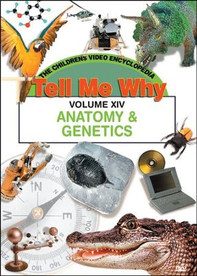 Tell Me Why: Anatomy & Genetics DVD  -
