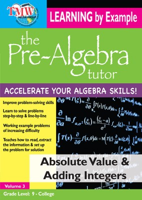 Absolute Value & Adding Integers DVD  -