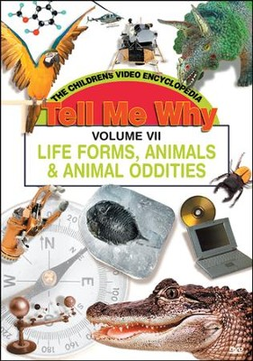 Tell Me Why: Life Forms, Animals and Animal Oddities DVD  -