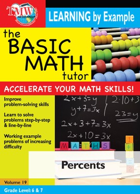 Basic Math Tutor: Percents DVD  -