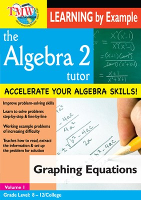 Algebra 2 Tutor: Graphing Equations DVD  -