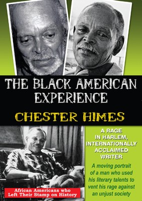 Chester Himes: A Rage In Harlem, Internationally Acclaimed Writer DVD  -