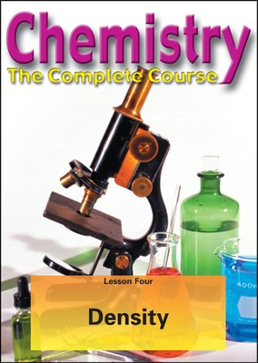 Chemistry - The Complete Course: Density DVD  -
