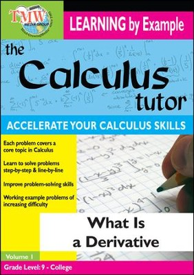 Calculus Tutor: What Is A Derivative? DVD  -