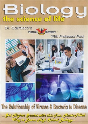 Relationship of Viruses & Bacteria to Disease DVD  -