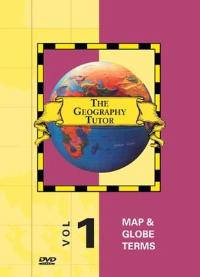 Geography Tutor: Map & Globe Terms DVD  -