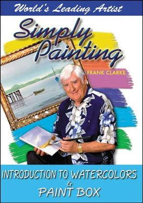 Simply Painting: Introduction to Watercolors & Paint Box DVD  -