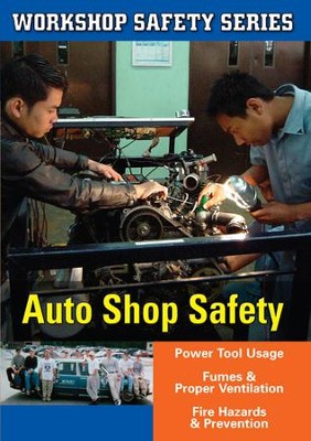 Workshop Safety: Auto Shop DVD  -